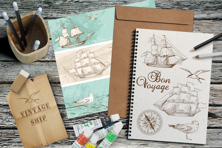 Thumbnail for Vintage Sailing Ships