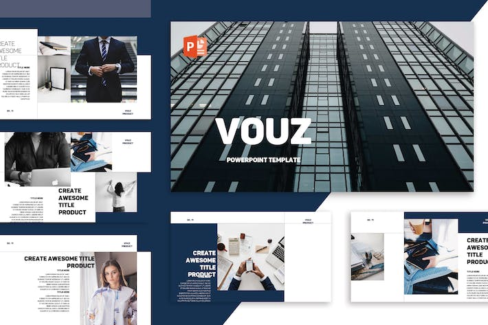 Thumbnail for Vouz Powerpoint Template