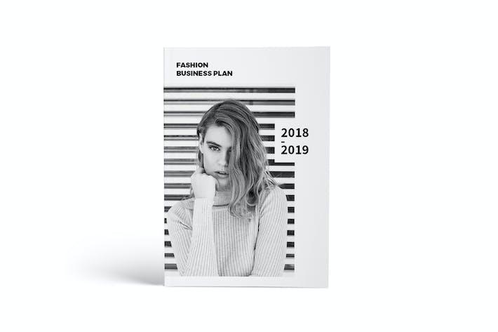 Thumbnail for Fashion Business Plan A4 Brochure