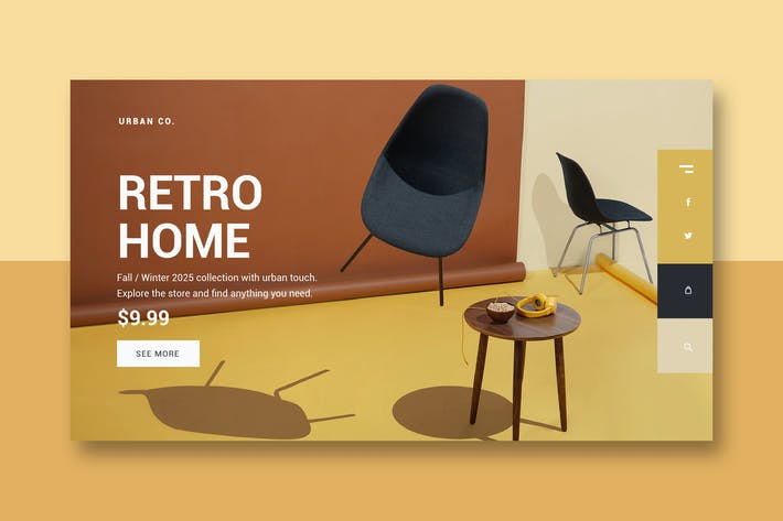 Thumbnail for Home Store - Landing Page