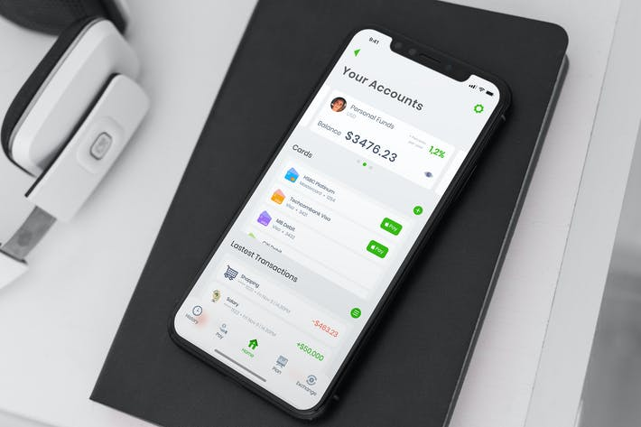 Thumbnail for Wallet Account Mobile Ui - T