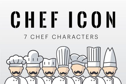 Chef Characters Icon