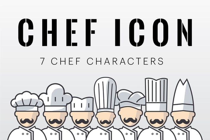 Thumbnail for Chef Characters Icon