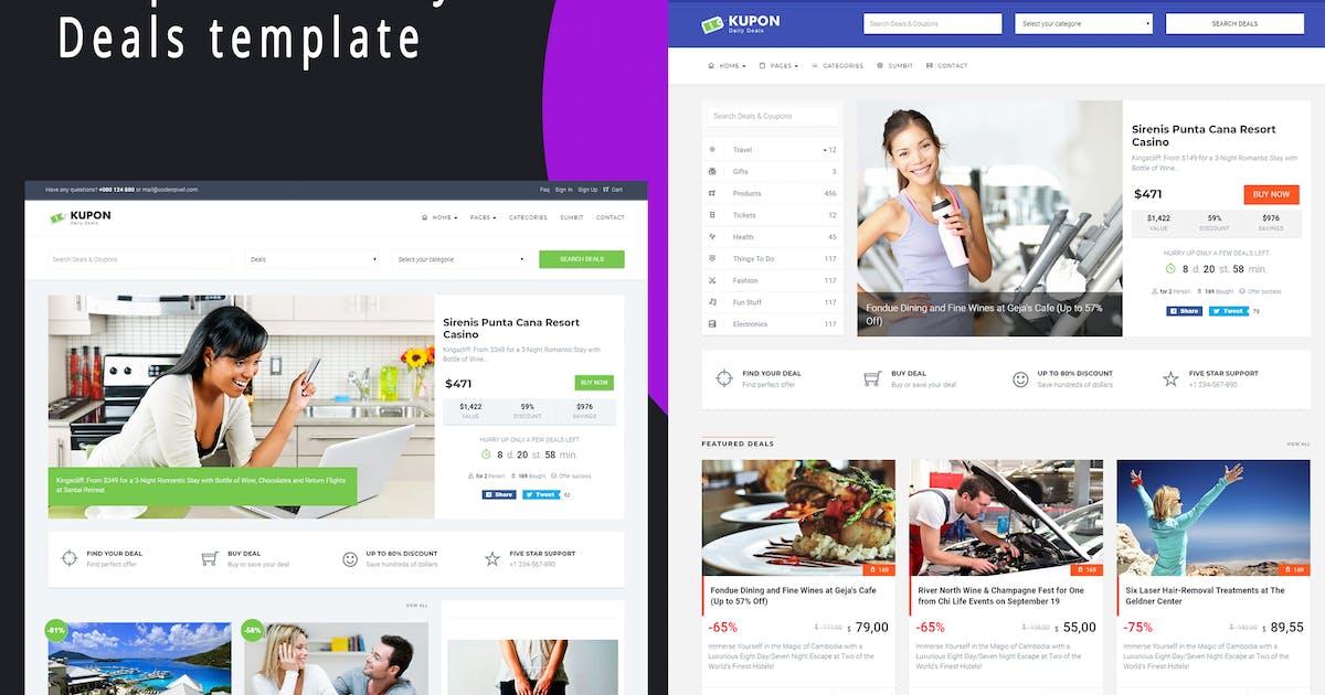 Download KUPON - Deals & Discounts - Material Design by codenpixel