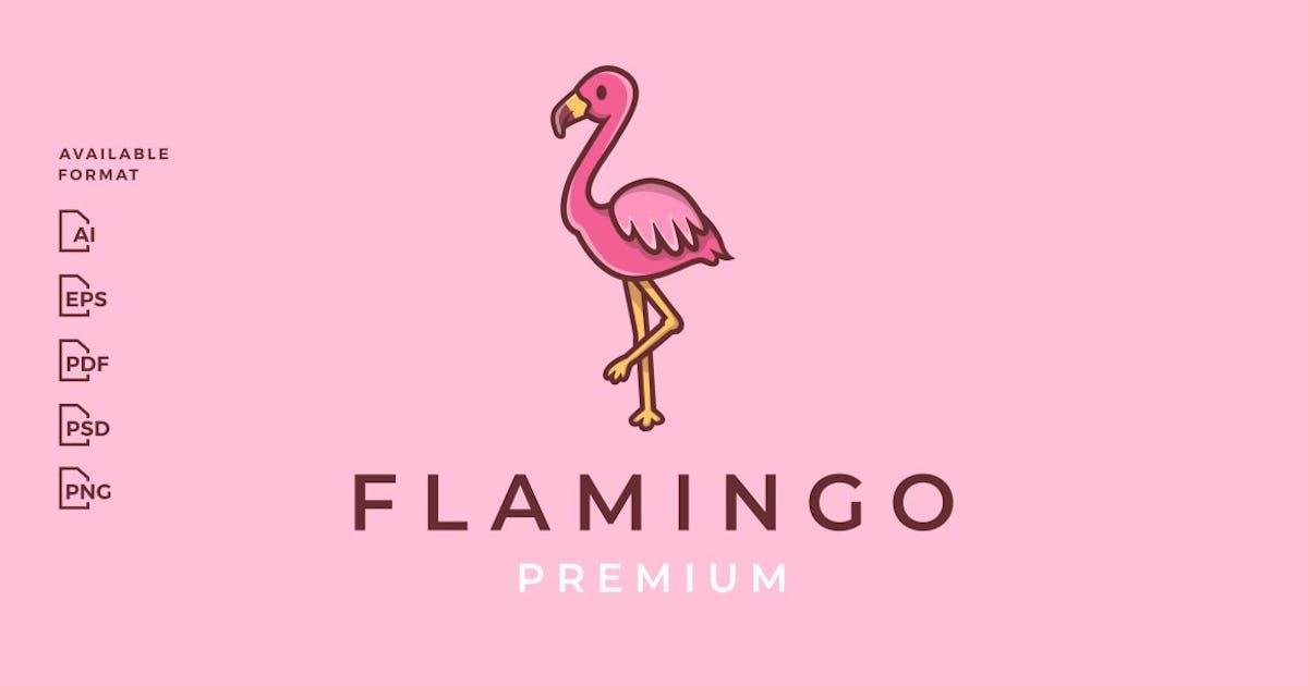 Download Cute Flamingo Cartoon Logo by gagavastard