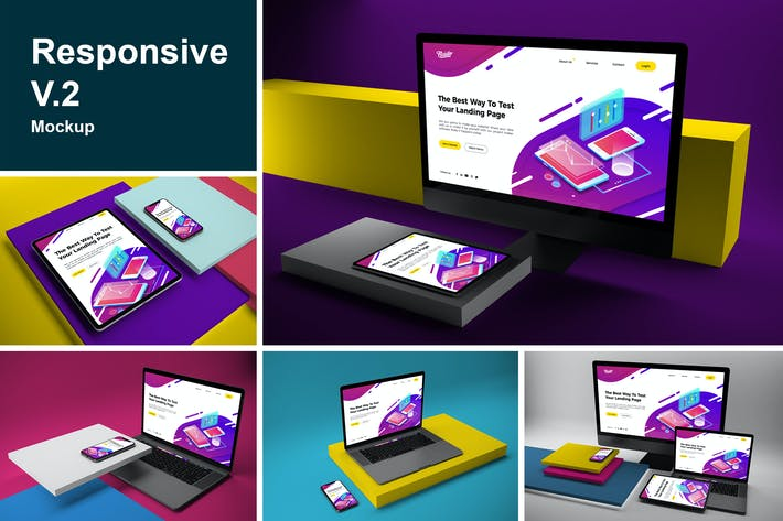 Thumbnail for Responsive Mock Up V.2
