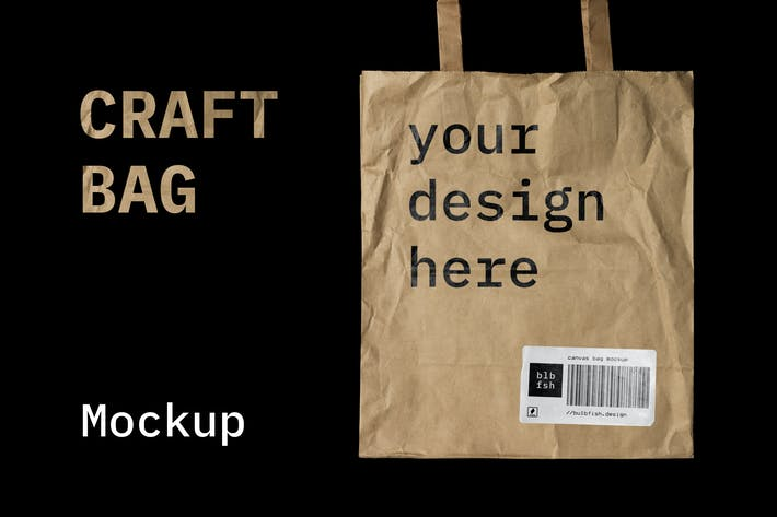 Thumbnail for Craft Bag Mockup