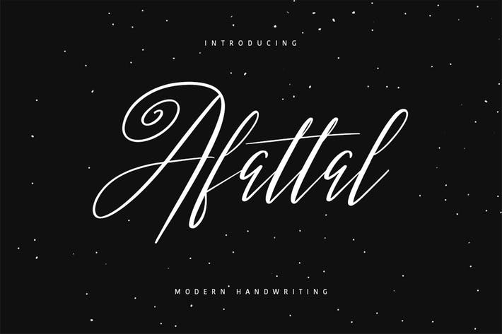 Thumbnail for Afattal Typeface
