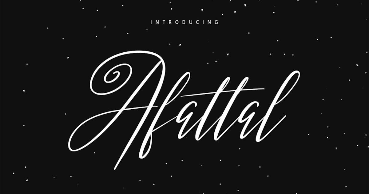 Download Afattal Typeface by maulanacreative