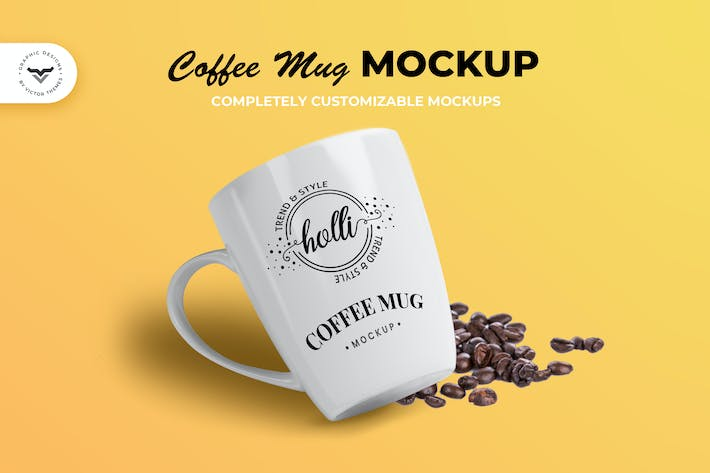 Thumbnail for Coffee Cup Mockup Template