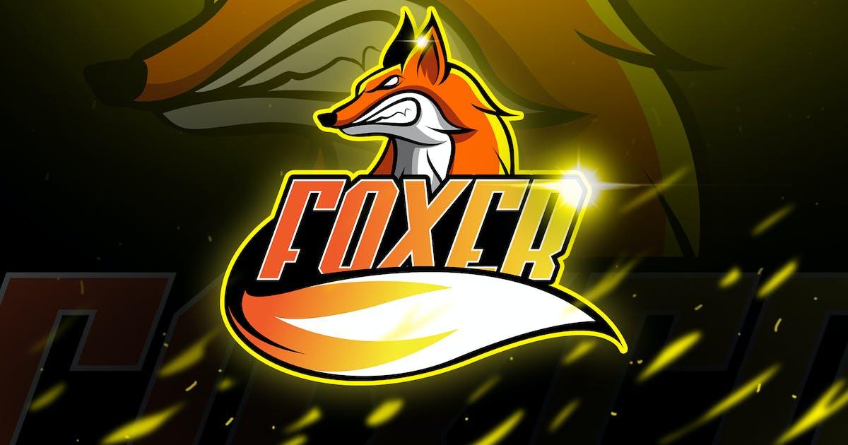 Download Foxer - Mascot & Logo Esport by aqrstudio