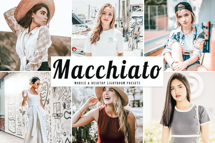 Thumbnail for Macchiato Mobile & Desktop Lightroom Presets