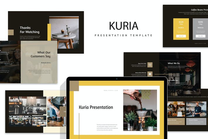 Thumbnail for Kuria: Кофе и пивоваренный бизнес Keynote