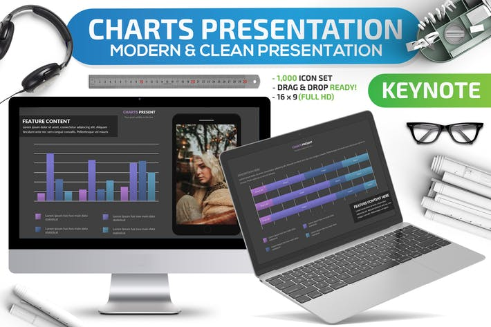 Thumbnail for Charts Keynote Presentation