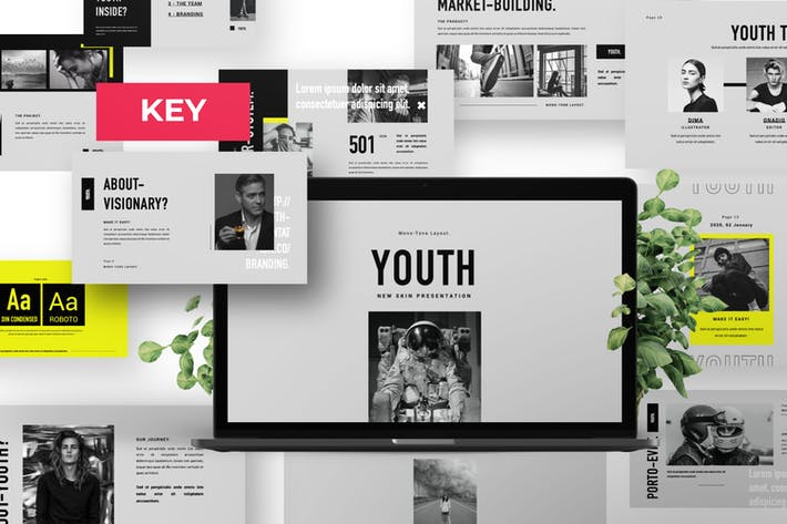 Thumbnail for Youth Minimal Brand Business Keynote