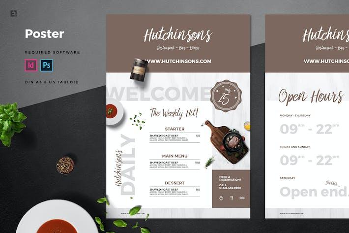 Thumbnail for Restaurant Poster