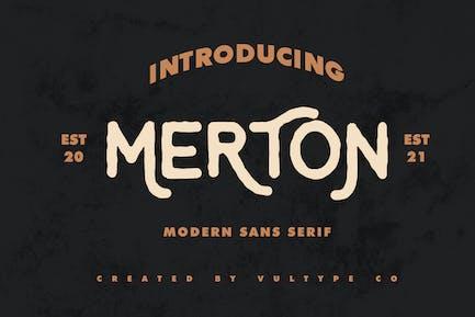 Merton - Vintage Font