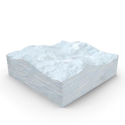 Schneequerschnitt