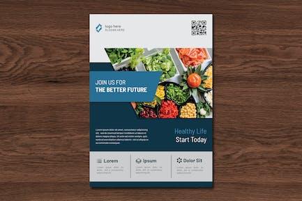 Lifela Healthy Flyer Template