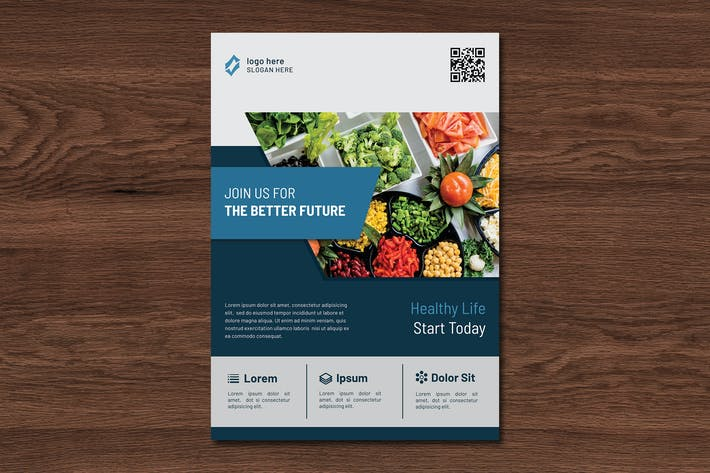 Cover Image For Lifela Healthy Flyer Template