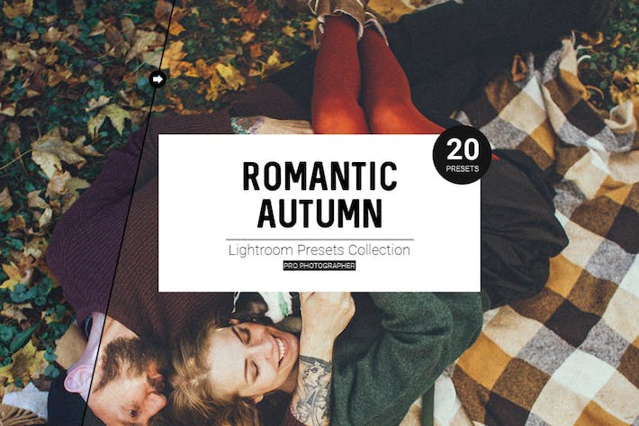 Cover Image For Romantic Autumn Lightroom Presets