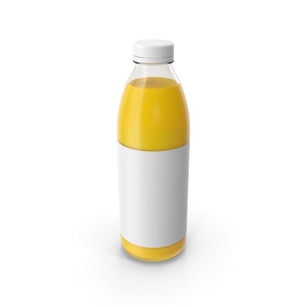 Бутылка апельсинового сока