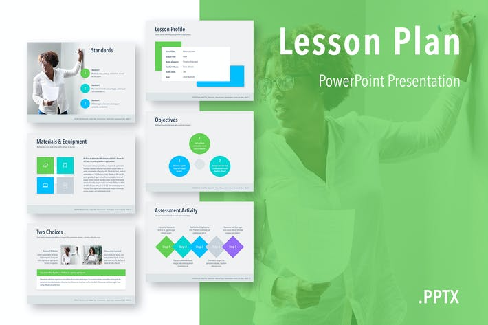 Thumbnail for Lesson Plan PowerPoint Template