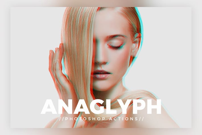 Thumbnail for Anaglyph Photoshop Actions V1