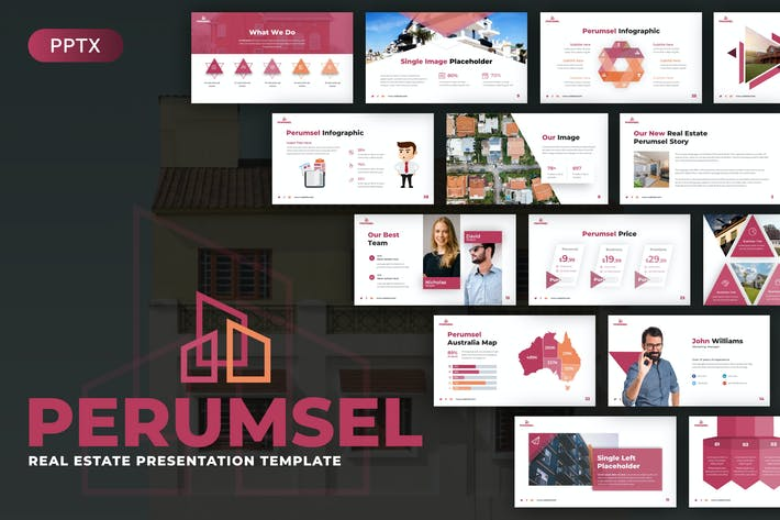 Perumsel Real Estate Powerpoint Template