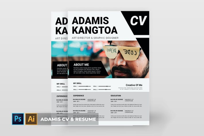 Thumbnail for Adamis | CV & Resume