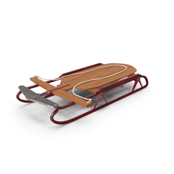 Cover Image for Vintage Flexible Flyer Snow Sled