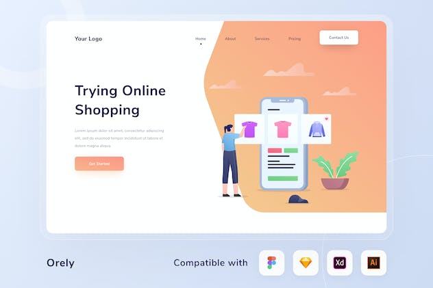 Online Shop Web Header - product preview 0