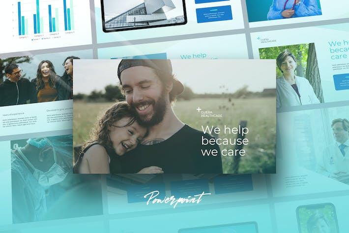 Thumbnail for Guera - Healthcare Theme Powerpoint Template