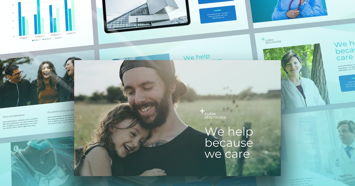 Download Guera - Healthcare Theme Powerpoint Template by Slidehack