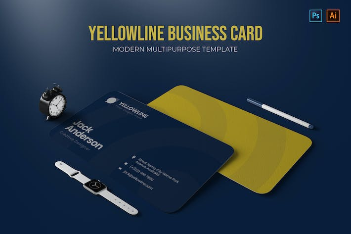 Thumbnail for Yellowline Company - Business Card
