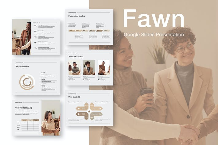Thumbnail for Fawn Google Slides Template