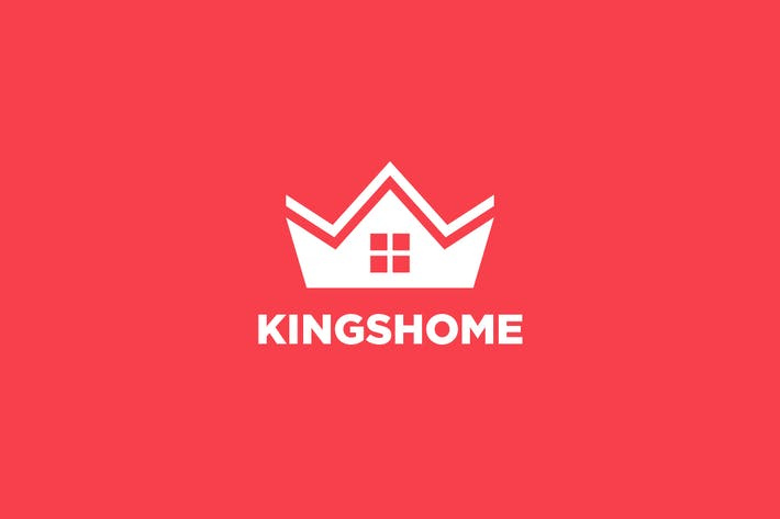 Thumbnail for Crown & House - Real Estate Logo
