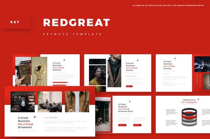 Красный Великий - Шаблон Keynote