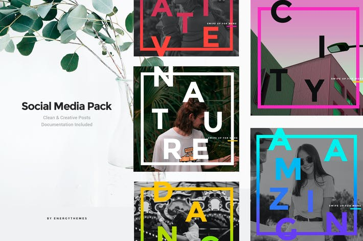 Thumbnail for Social Media Banners - Vol77