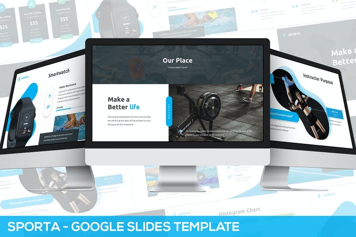 Thumbnail for Sporta - Google Slides Presentation Template