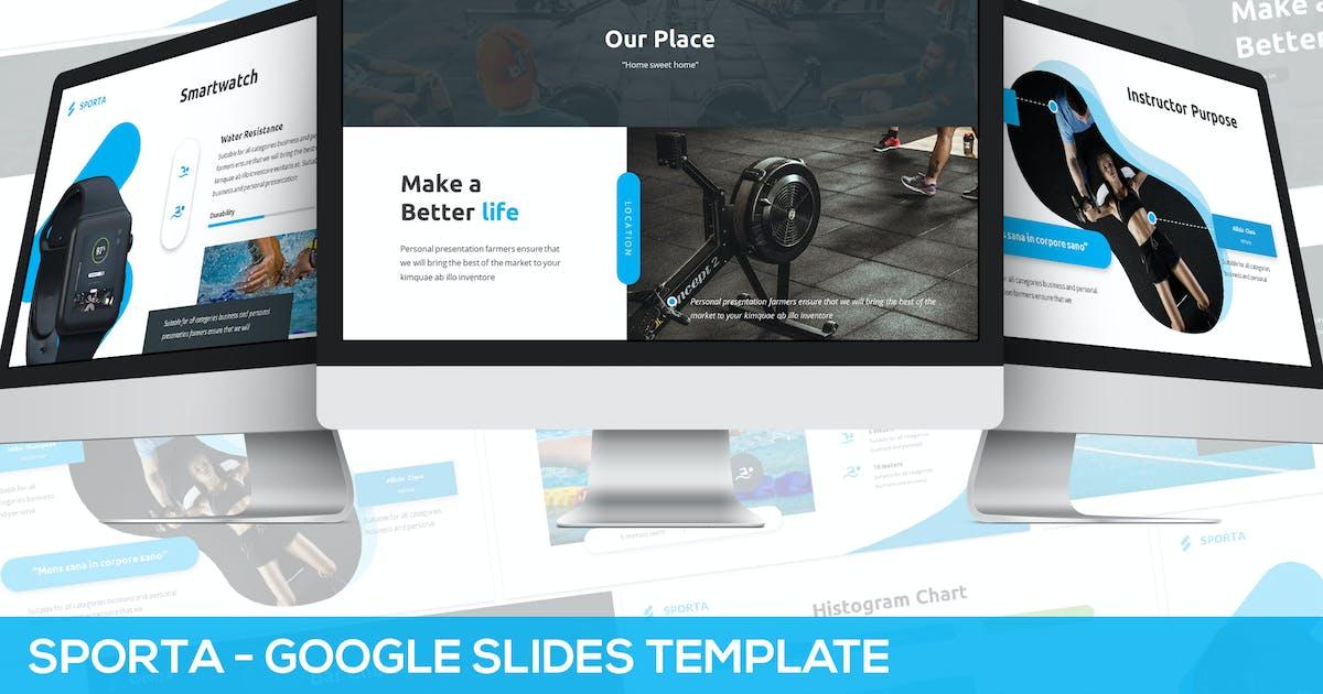 Download Sporta - Google Slides Presentation Template by Unknow