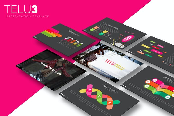 Cover Image For Telu3 - Keynote Template
