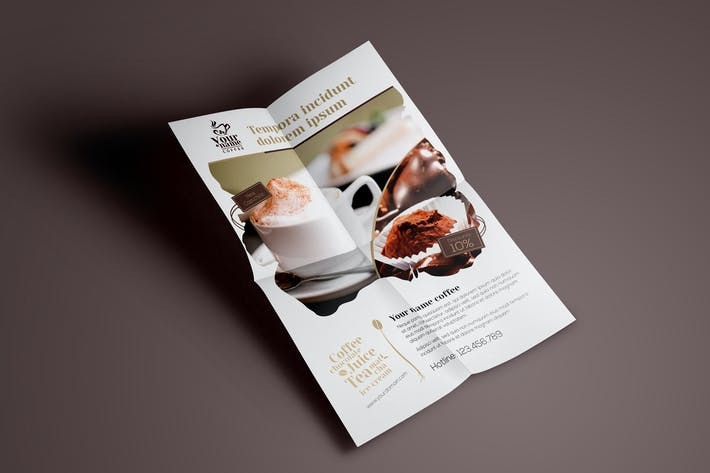 Cover Image For Coffee Shop - Flyer Template