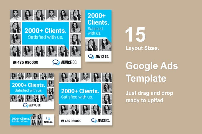 Thumbnail for Web Banner Template