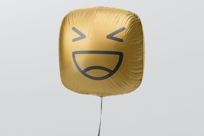 Thumbnail for Square Balloon Mockup