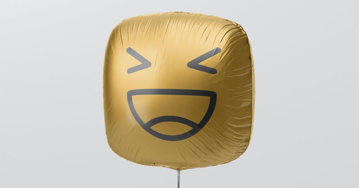 Download Square Balloon Mockup by visconbiz