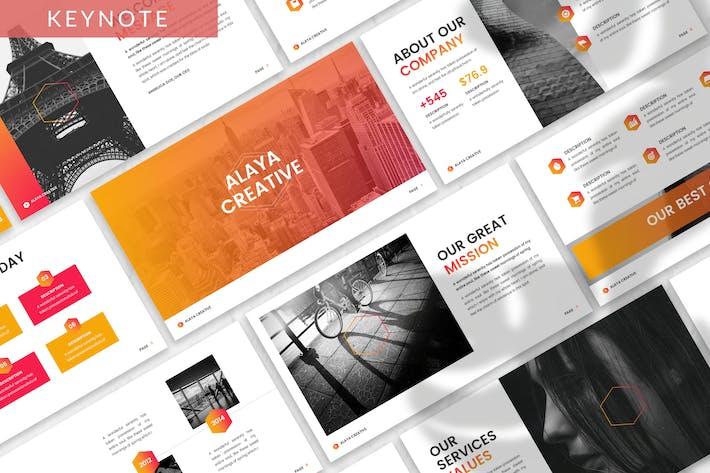 Thumbnail for Alaya - Business Keynote Template