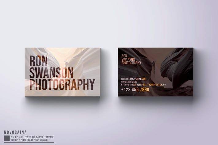Thumbnail for Photographer Business Card