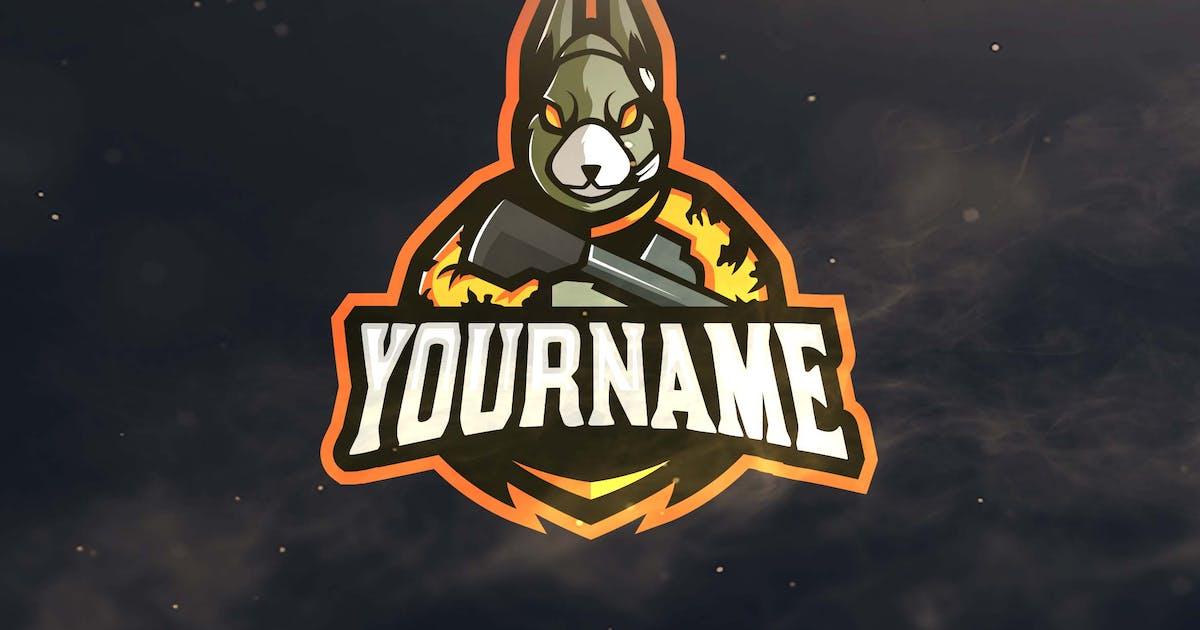 Download Rabbit Sport and Esports Logos by ovozdigital