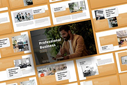 Professional Business - PowerPoint Template